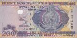 VANUATU █ bancnota █ 200 Vatu █ 2007 █ P-8b █ Serie DD █ UNC █ necirculata