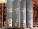 Dictionar enciclopedic roman - 4 vol.