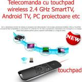 Telecomanda cu TOUCHPAD wireless SmartTV, Android TV PC proiector