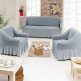 Set huse 3 piese (canapea 3 locuri+2 fotolii) Bumbac