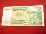 Bancnota 10 makuta noi 1993 Zair , cal.NC
