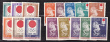 Paraguay  1964  sport  olimpiada  MI 1265-1280 dant.+nedant.  MNH   w51, Nestampilat