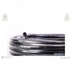 GF-0087 Furtun gaz negru cu insertie de material 50m/rola
