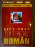 E. Savin, s.a. - Dictionar german-roman