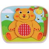 Puzzle din lemn Ursulet - Sun Baby, Sun Baby