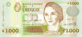 URUGUAY █ bancnota █ 1000 Pesos Uruguayos █ 2004 █ P-79b █ UNC █ necirculata