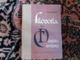 Filozofia lui Dimitrie Cantemir - D. Badarau