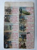 FOTOGRAFIE MILITARA - PATIMILE VIETII DE SOLDAT - UMORISTICA - INCEPUT DE 1900