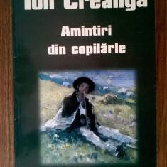 Ion Creanga – Amintiri din copilarie