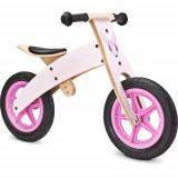 Bicicleta fara Pedale din Lemn Woody 2 in 1 Pink, Toyz by Caretero