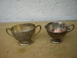 Frumos set argintat de zaharnita si latiera