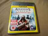 Joc Assassin's Creed Brotherhood original, PS3!, Actiune, 18+, Single player, Ubisoft