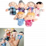 6 mascote familie jucarii degete mascote povesti logoped autism papusi degete