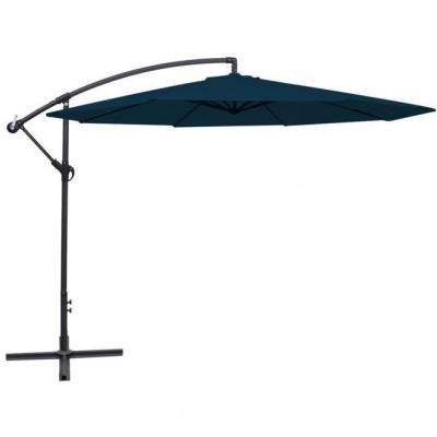 Umbrelă cantilever 3,5 m, Albastru foto