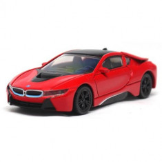 Masinuta BMW I8 Hybrid 2015, Scara 1:43 Rosu - VV25817, Rastar