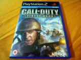Joc Call of duty Finest Hour, PS2, original, alte sute de jocuri!, Actiune, 3+, Single player, Thq