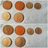 Lot monede Marea Britanie, Europa