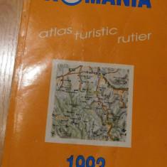 Romania - Atlas turistic rutier de Dragomir Vasile