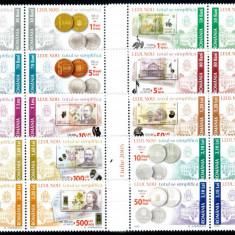 Romania 2005, LP 1687, Leul Nou 2005, seria in perechi, MNH! LP 33,50 lei