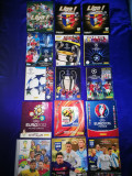 Albume Panini Fotbal UCL,FIFA World Cup, EURO. 2016,2015,2014,2012 etc
