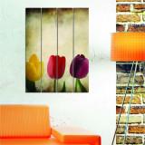 Tablou decorativ multicanvas Dilly, 222DLY1957, 4 Piese, MDF (Grosime: 4mm)