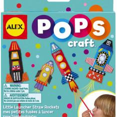 POPS Craft lansatoare de rachete din pai - AlexToys - VV24935