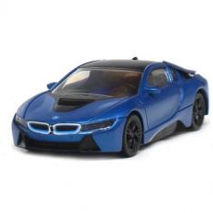 Masinuta BMW I8 Hybrid 2015, Scara 1:43 Albastru - VV25816, Rastar