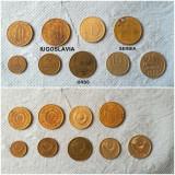 Lot monede Iugoslavia, URSS, Europa