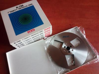Rola de aluminiu Akai NOS 18cm noua,in cutie,nefolosita foto