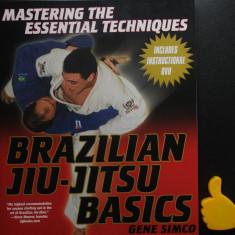 Brazilian Jiu Jitsu Basics Gene Simco + DVD