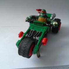 bnk jc Slot car - Carrera - Testoasele Ninja - Raphael - 1/43 - functionala