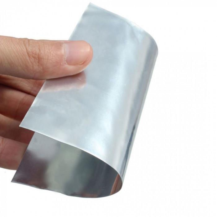 TABLA de ZINC PLACA de ZINC puritate 99.9% 100mm X 100mm ptr laboratoare