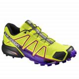 Adidasi Femei Salomon Speedcross 4 W Runmageddon 391859, 38, 38 2/3, 39 1/3, 40, 40 2/3, 41 1/3, 42, Negru
