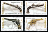 Romania 2008, LP 1794, Arme de foc, seria, MNH! LP 10,70 lei, Militar, Nestampilat