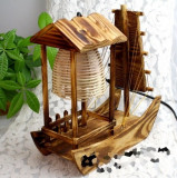 Veioza din lemn Vapor