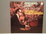 BEETHOVEN – DIABELLI-VARIATIONS - Alfred Brendel (1976/PHILIPS/RFG) - VINIL/NM