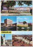 Bnk cp Fagaras - Vedere - uzata, Circulata, Printata