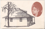 Bnk cp Targu Neamt - Casa si colectia memoriala Veronica Micle - uzata, Necirculata, Printata