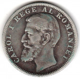 * Moneda 1 leu 1900 - 402, Argint