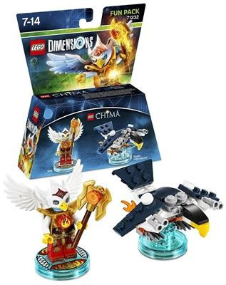 Set Lego Dimensions Chima Eris Fun Pack foto