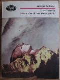 O moarte care nu dovedeste nimic  Ioana  : romane / Anton Holban BPT 1380