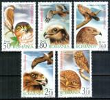 Romania 2007, LP 1760, Pasari de prada, seria, MNH! LP 10,20 lei, Fauna, Nestampilat