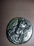 Taler,moneda,distinctie,medalie,trofeu,Stefan cel Mare,Cap de bour T GRATUIT, Europa