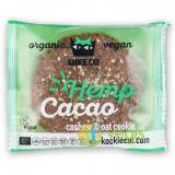 Cookie cu Seminte de Canepa si Cacao fara Gluten Ecologic/Bio 50g