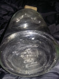 Sticla veche de laborator/farmacie cu dop,Clondir Original 25 cm,Transp.GRATUIT