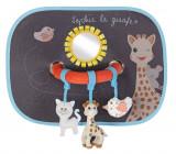 Set de 2 parasolare cu jucarii Girafa Sophie - Vulli