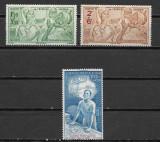 Guyana Franceza 1942,  MNH, Nestampilat