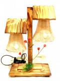Veioza din lemn Artizanat