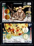 Romania 2009, LP 1832, EUROPA Astronomie, seria, MNH! LP 13,80 lei, Nestampilat