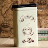 Cutie metalica pentru cafea